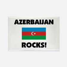 Azerbaijan Rocks Rectangle Magnet