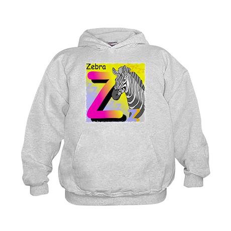 Z is for Zebra Kids Hoodie