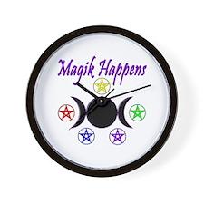 Magik Happens Wall Clock