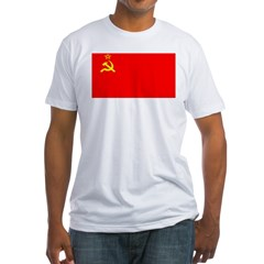 USSR Blank Flag Shirt