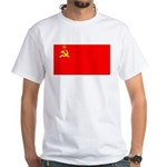 USSR Blank Flag White T-Shirt