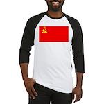 USSR Blank Flag Baseball Jersey