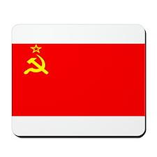 USSR Blank Flag Mousepad