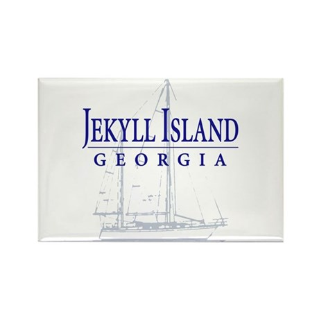 Jekyll Sailboat - Rectangle Magnet