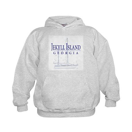 Jekyll Sailboat - Kids Hoodie