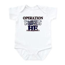 Operation One America Under G Infant Bodysuit