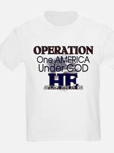 Operation One America Under G T-Shirt