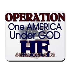 Operation One America Under G Mousepad