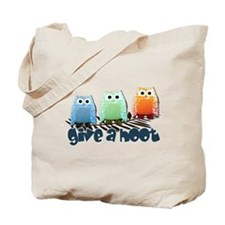 Give a hoot - Tote Bag