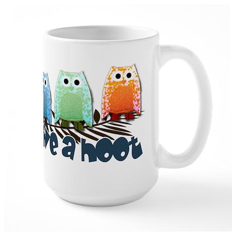 Give a hoot - Large Mug