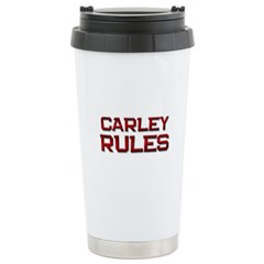 carley rules Travel Mug