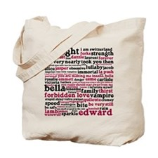 Cute Twilight quotes Tote Bag