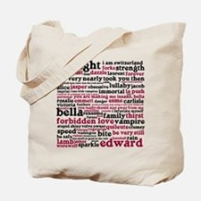 Cute New moon cliff diving Tote Bag