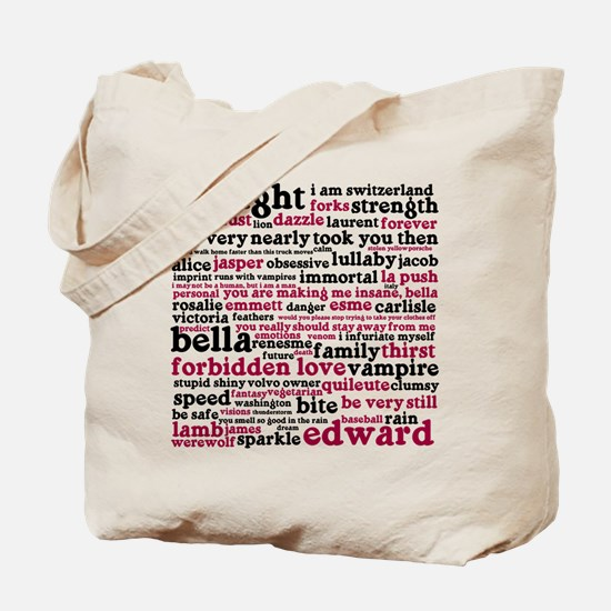 Funny Twilight quotes Tote Bag