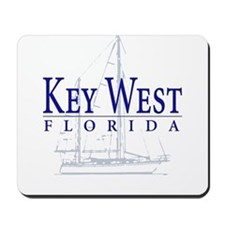 Key West Sailboat - Mousepad