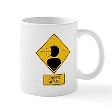 Sniper Warning - Rifle Small Mug