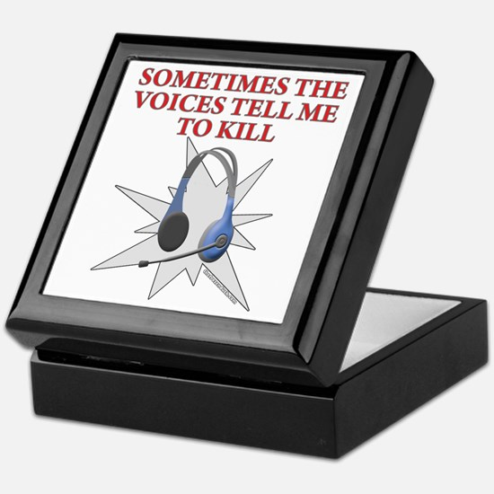 Voices Keepsake Box