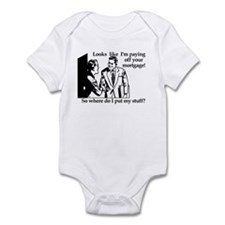 Mortgage Infant Bodysuit