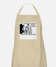 Mortgage BBQ Apron