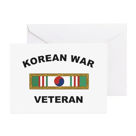 Korean War Veteran 1 Greeting Cards (Pk of 10)