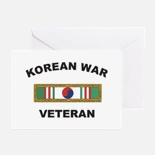 Korean War Veteran 1 Greeting Cards (Pk of 10)