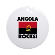 Angola Rocks Ornament (Round)