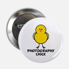 """Photography Chick 2.25"""" Button"""