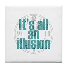 Illusion Tile Coaster