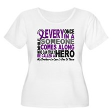 HERO Comes Along 1 Brother-In-Law PC T-Shirt