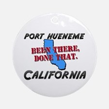 port hueneme california - been there, done that Or