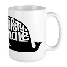 Thirsty Whale Mugw/ Black Logo