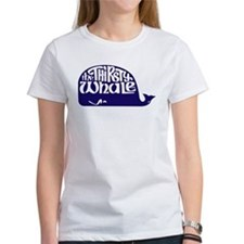 Thirsty Whale Tee w/ Navy Whale