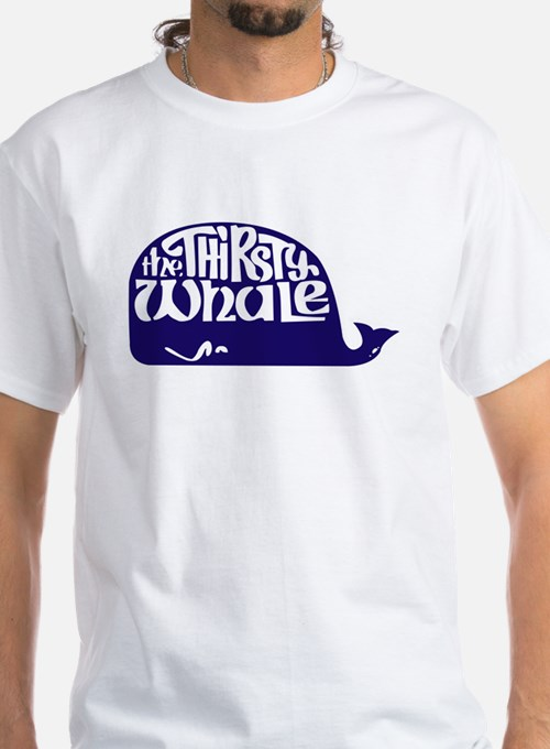 Thirsty Whale Shirt w/ Navy Whale