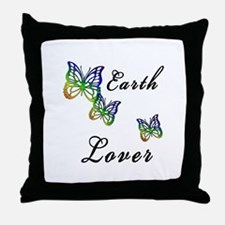 Earth Lover Throw Pillow