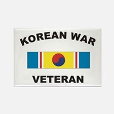Korean War Veteran 2 Rectangle Magnet