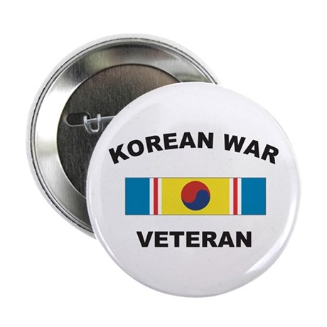 Korean War Veteran 2 Button