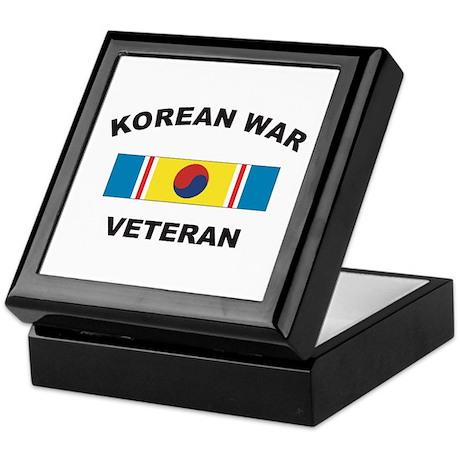 Korean War Veteran 2 Keepsake Box