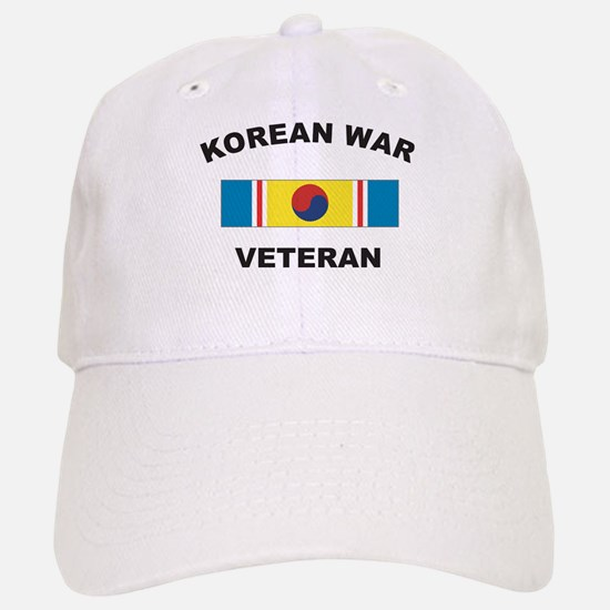 Korean War Veteran 2 Baseball Baseball Cap