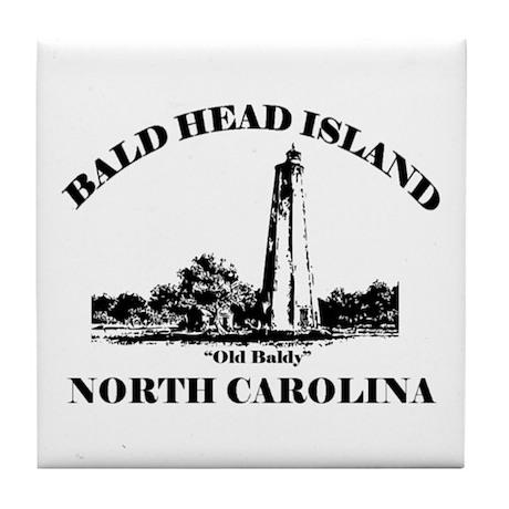 Bald Head Island NC Tile Coaster