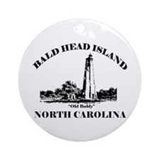 Bald Head Island NC Ornament (Round)