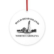 Bald Head Island NC Ornament (Round)