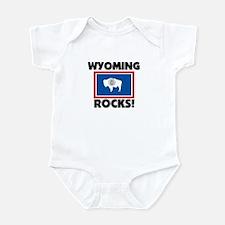 Wyoming Rocks Infant Bodysuit