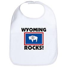 Wyoming Rocks Bib