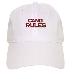 candi rules Baseball Cap