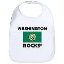 Washington Rocks Bib