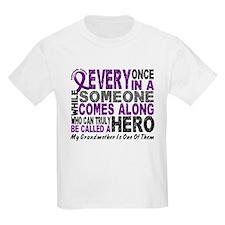 HERO Comes Along 1 Grandmother PC T-Shirt