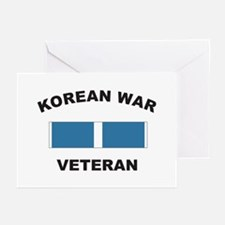 Korean War Veteran Greeting Cards (Pk of 10)