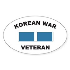 Korean War Veteran Oval Decal