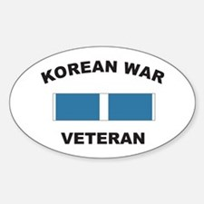 Korean War Veteran Oval Decal