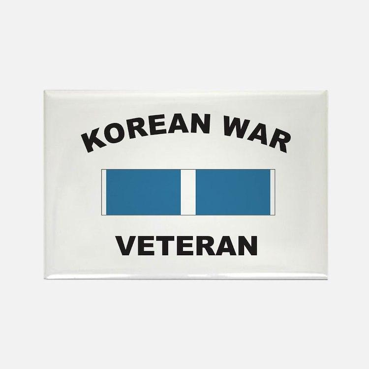 Korean War Veteran Rectangle Magnet